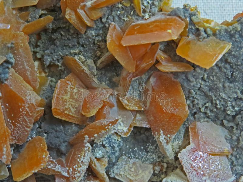 Natuurlijke vormen Mineralen en halfedelstenentexturen en achtergronden stock foto's
