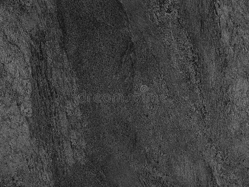 Natuurlijke zwarte vulkanische naadloze Venetiaanse het pleisterachtergrond van de steentextuur Donkere vulkanische de steentextu royalty-vrije stock foto's