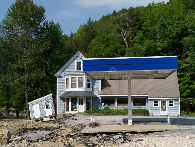Natuurramp - de Schade van de Vloed royalty-vrije stock foto's