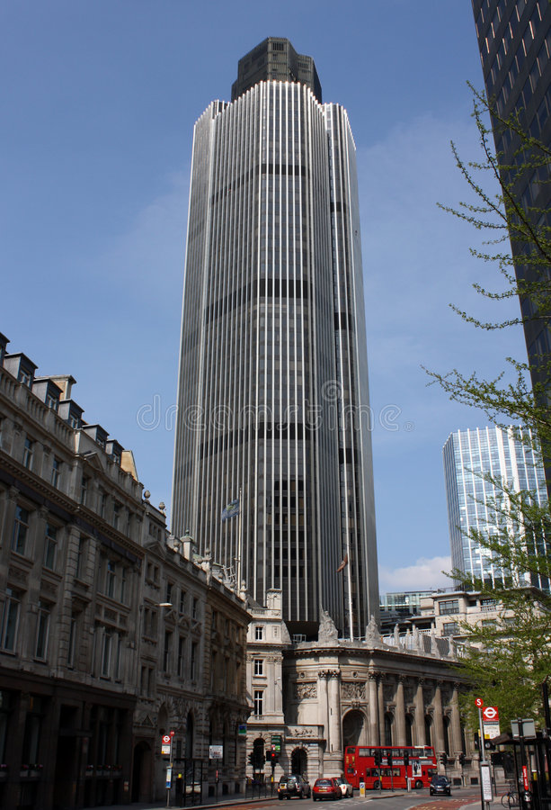 Natwest Tower stock image