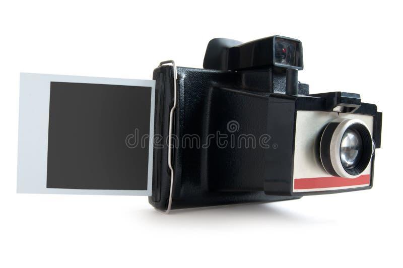 Natychmiastowa kamera zdjęcie royalty free