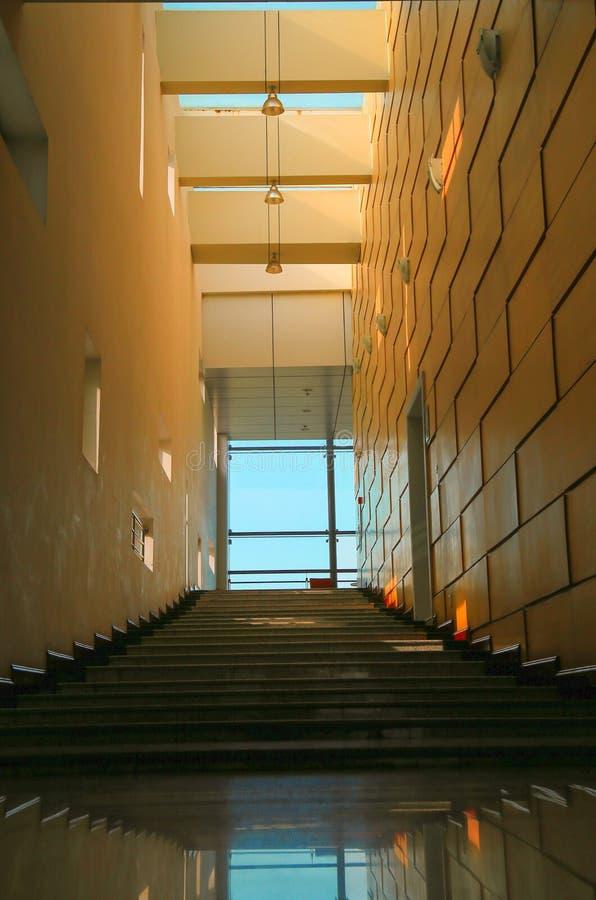 Nauczanie budynek Sichuan uniwersytet, ja jest w Chengdu obraz stock