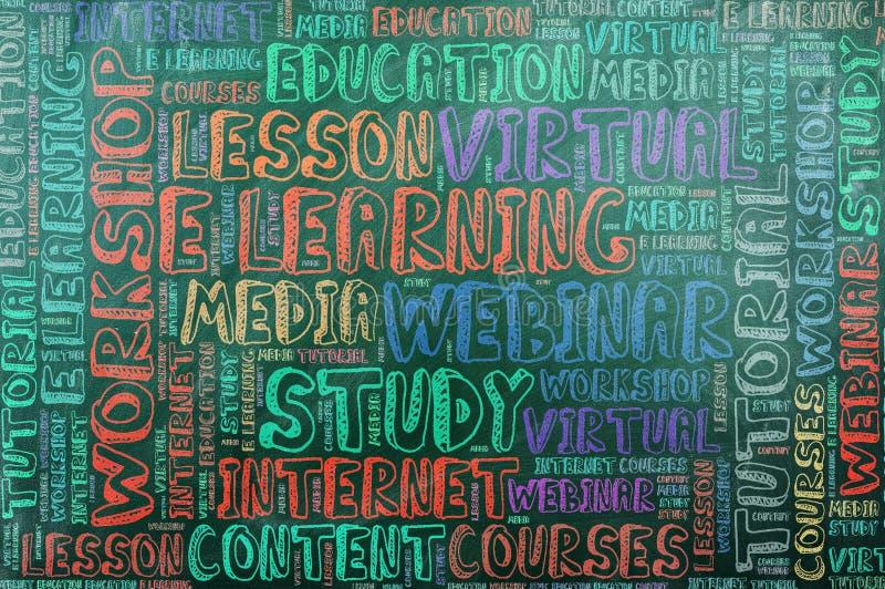 Nauczanie online ilustracji