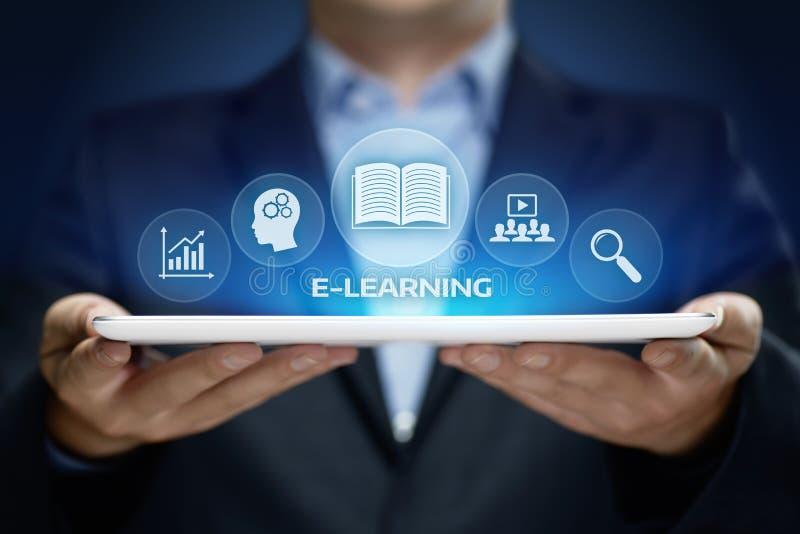 Nauczanie online edukaci Internetowej technologii Webinar kursów Online pojęcie