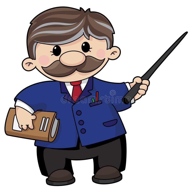 Download Nauczyciel ilustracja wektor. Obraz złożonej z edukacja - 14891638
