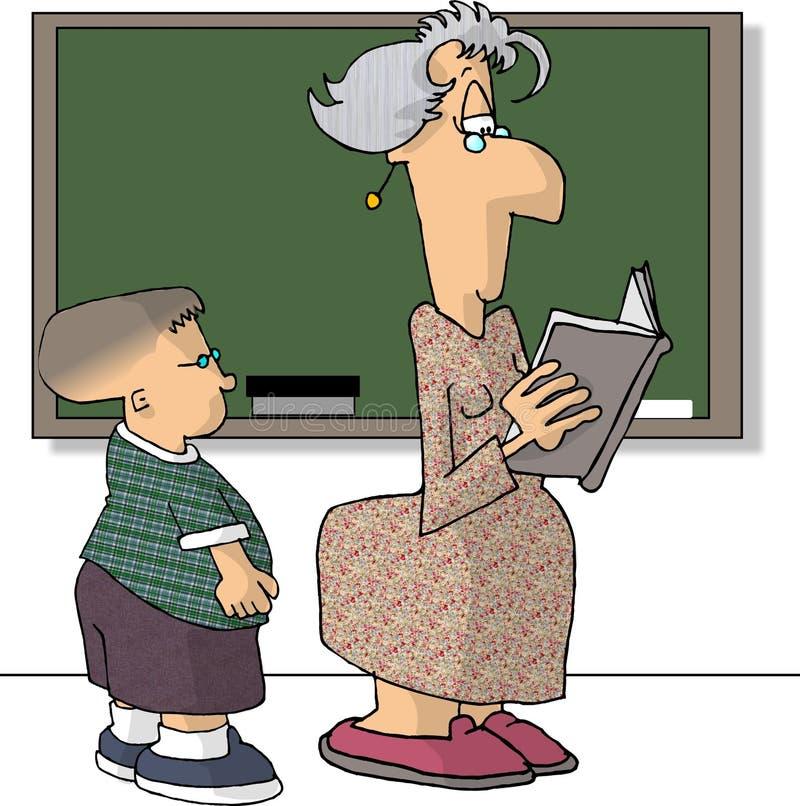 nauczyciel ilustracja wektor