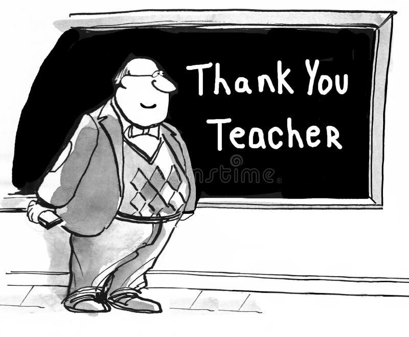 nauczyciel dziękować ty ilustracji