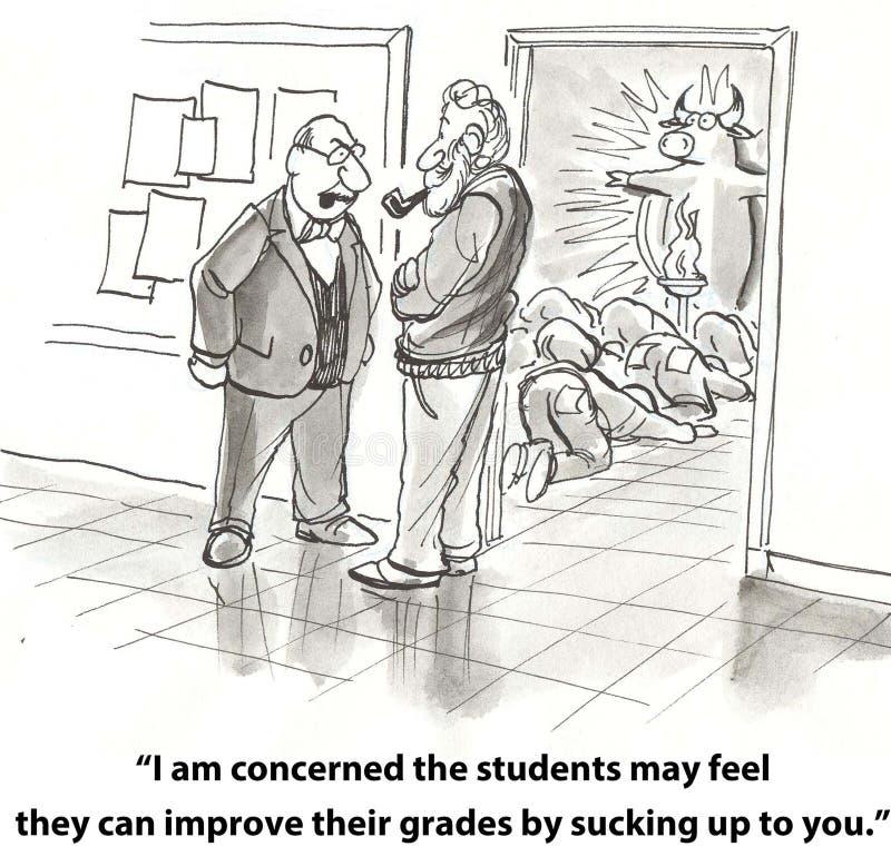 Nauczyciel i profesor ilustracji