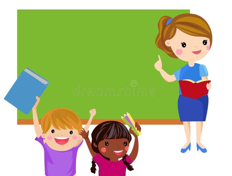 Nauczyciel i Uczeń ilustracji