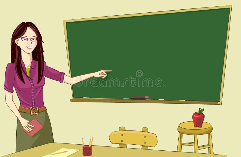 nauczyciel klasy ilustracja wektor