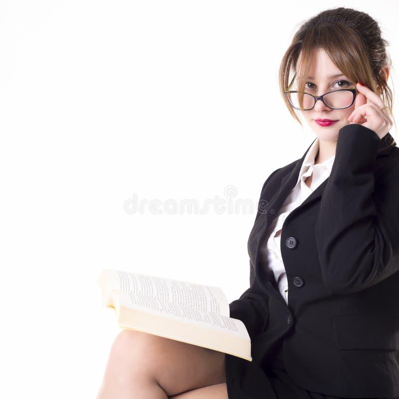 Nauczyciel lub biznesowa kobieta obrazy stock
