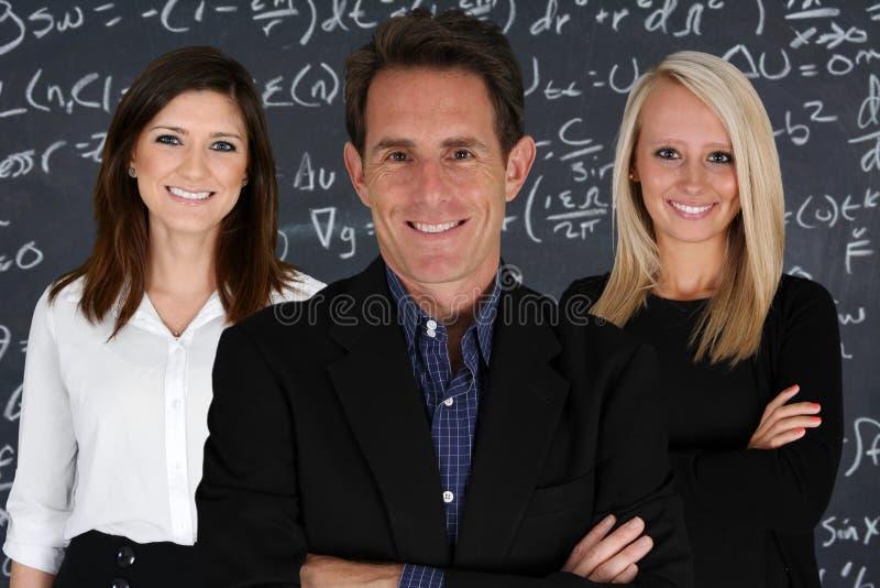 Nauczyciele zdjęcia royalty free
