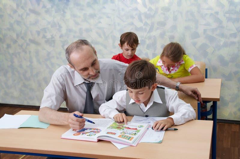 nauczycielka dzieci zdjęcie royalty free
