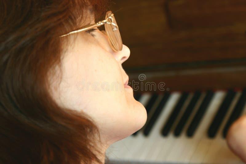 nauczycielka muzyki zdjęcie royalty free