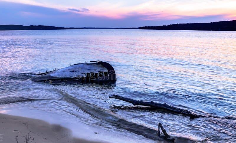 Naufrage du lac Supérieur images stock