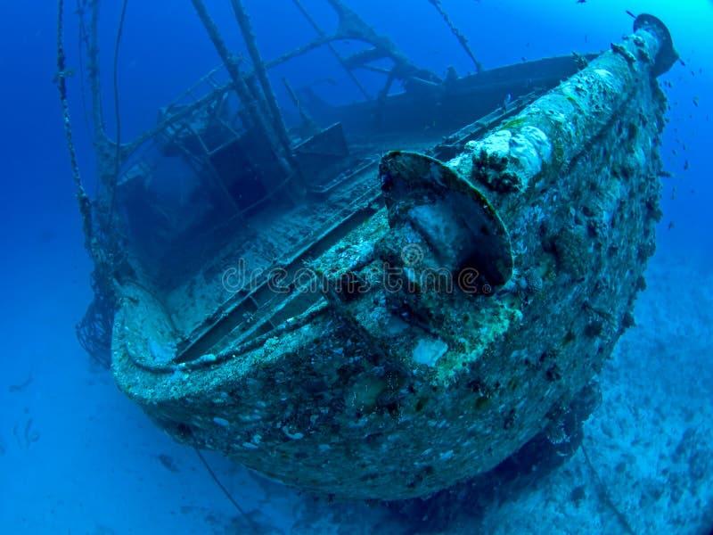 Naufragio subacqueo fotografia stock libera da diritti