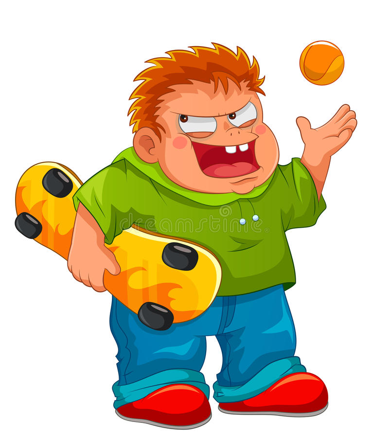 Download Naughty boy stock vector. Image of mean, brute, punk - 29549381