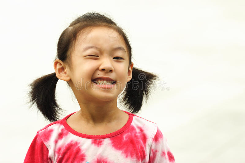 Download Naughty Girl Pull Face Royalty Free Stock Photos - Image: 24071768