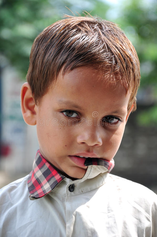 Naughty kid stock images
