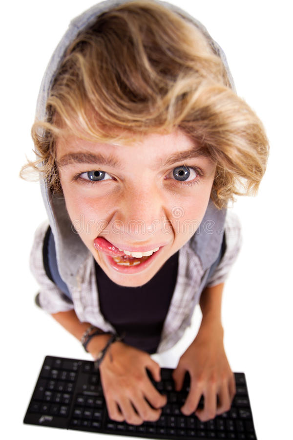 Download Naughty teen boy stock image. Image of single, caucasian - 29698495