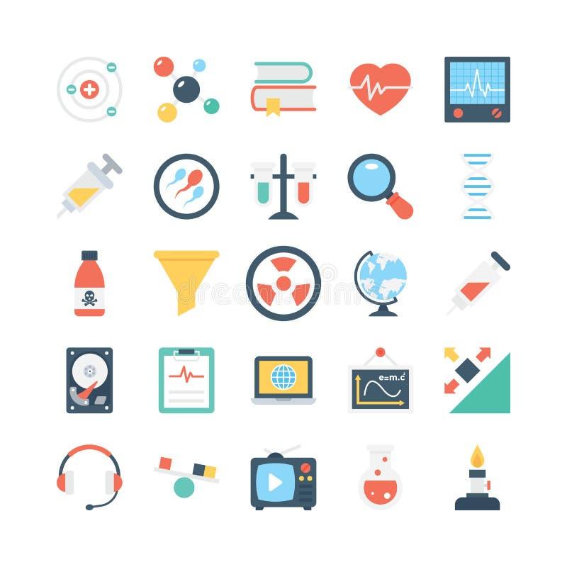 Nauka I Technika Wektorowe ikony 2 ilustracji