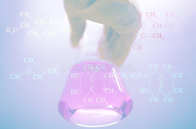 Nauka physicochemical własność olej od dobrze przy instytutem badawyczym obrazy stock