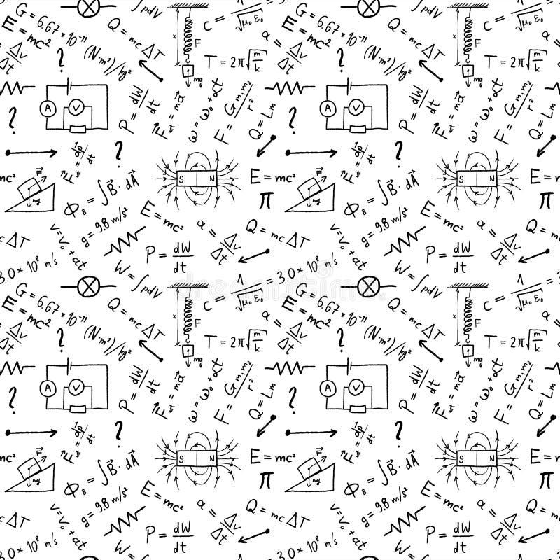 Nauki doodle wektor ilustracji
