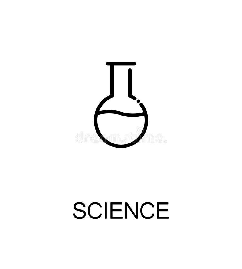 Nauki mieszkania ikona ilustracja wektor