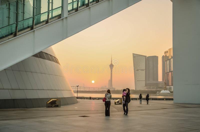 Nauki muzeum w Macau obrazy royalty free