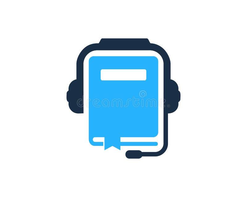 Nauki Podcast loga ikony projekt ilustracja wektor