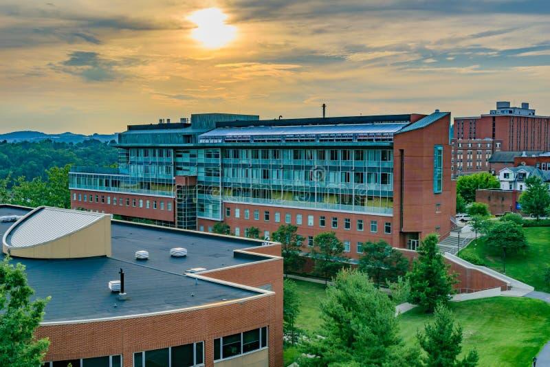 Nauki Przyrodnicze Buduje przy Zachodnia Virginia uniwersytetem obrazy royalty free