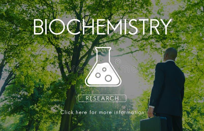 Naukowe biochemii genetyka Konstruuje pojęcie zdjęcia stock