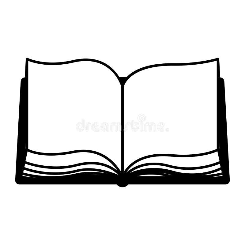 Naukowiec książkowa ikona ilustracji