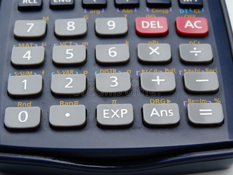 Naukowy kalkulator odizolowywający fotografia royalty free