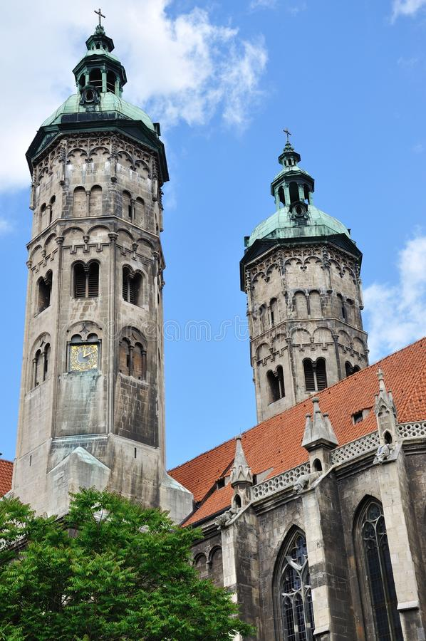 Naumburg Cathedral Stock Images