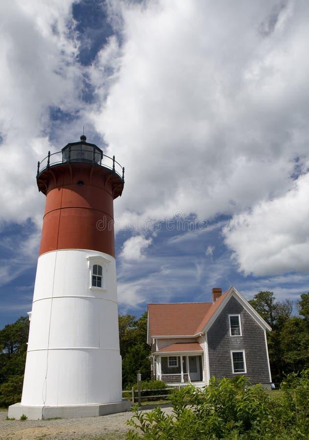 Download Nauset Light House EastHam, Massachusetts Stock Image - Image of beauty, coastline: 10908945