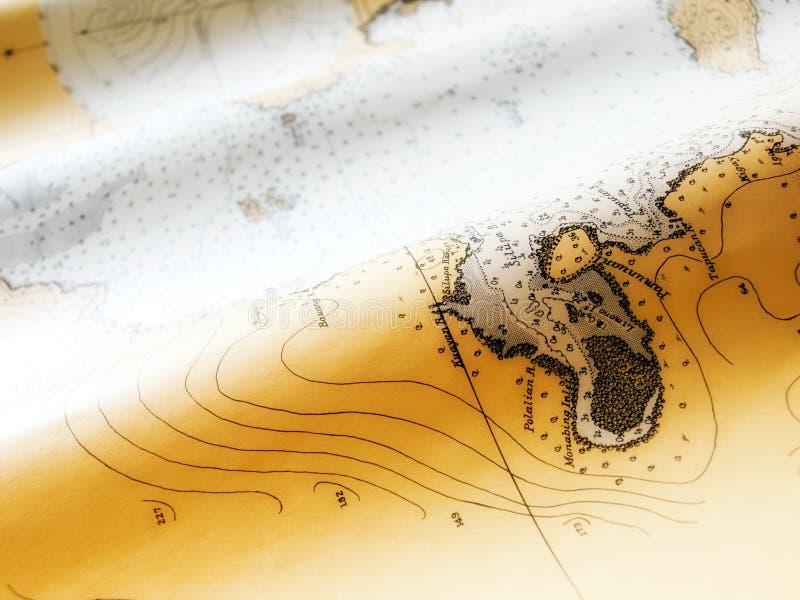 Download Nautical chart stock image. Image of closeup, voyage - 20445297