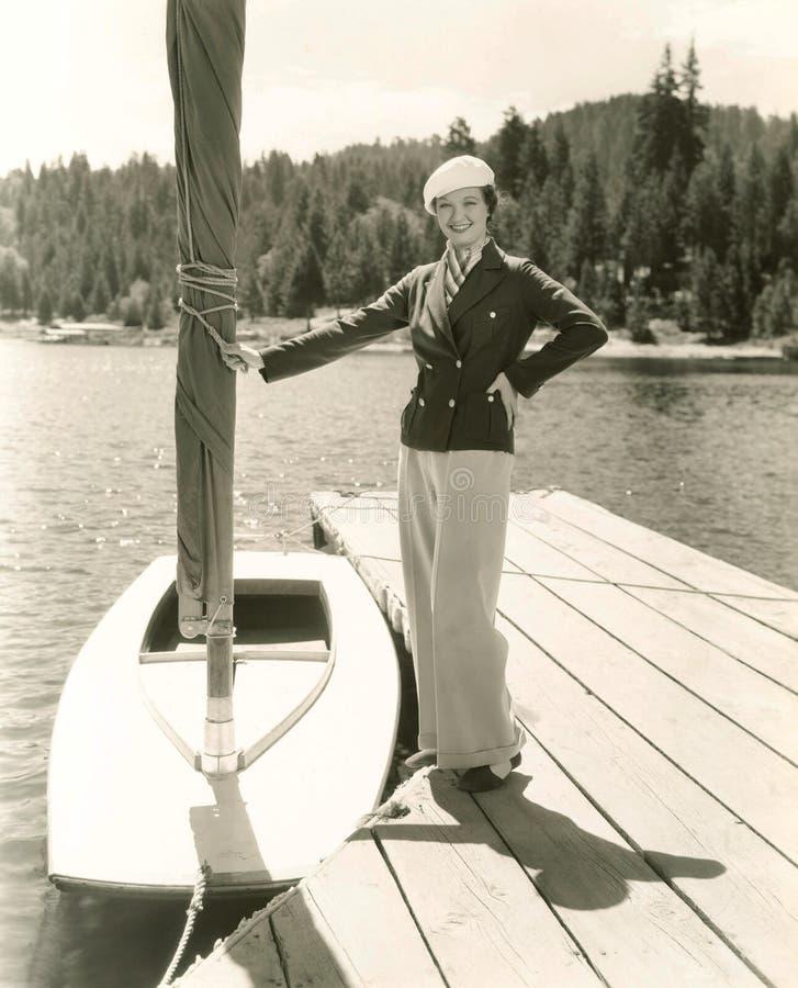 Nautical fashion royalty free stock photography