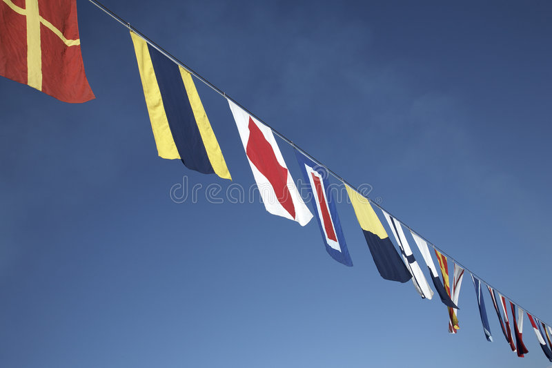 Download Nautical flags stock image. Image of nautical, still, signal - 1830863