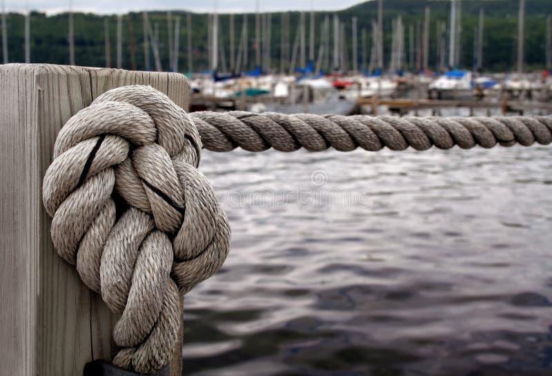 Nautical Knot royalty free stock image