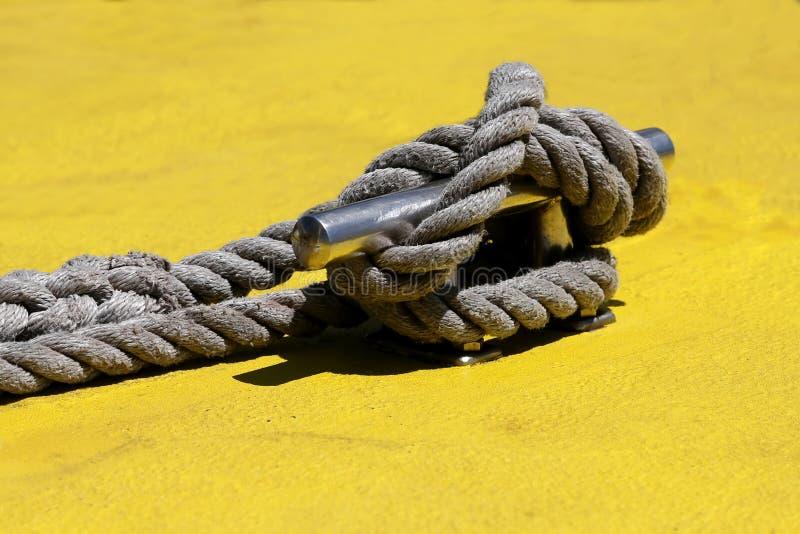 Download Nautical Knot stock image. Image of marine, line, harbor - 35349795
