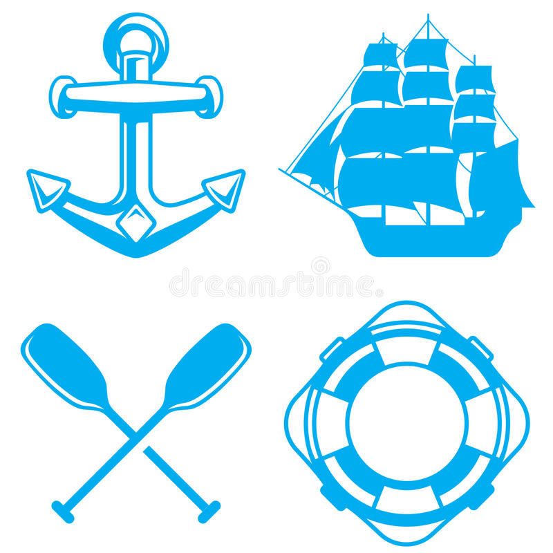 Nautical royalty free illustration