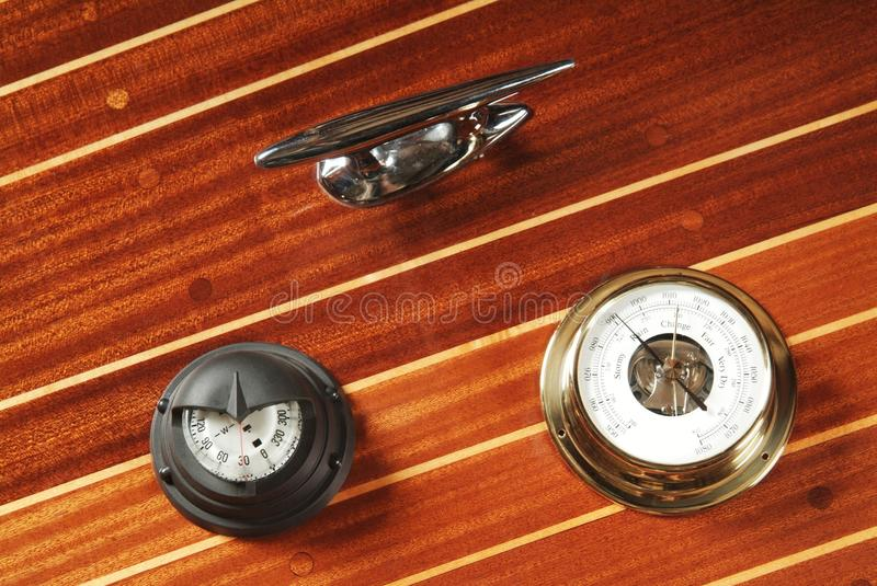 Download Nautical measuring devices stock photo. Image of barometer - 20609184