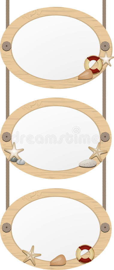 Nautical picture frames