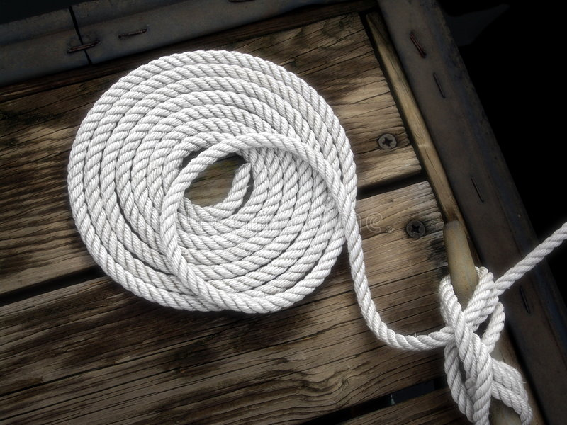 Nautical Rope Knot Royalty Free Stock Image