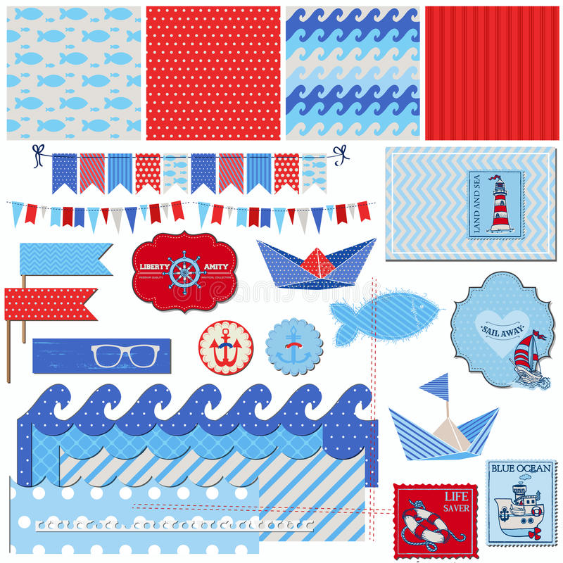 Free Nautical Sea Theme Stock Image - 31304161