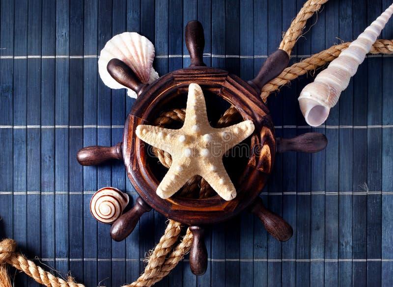 Nautical still life. royalty free stock photography