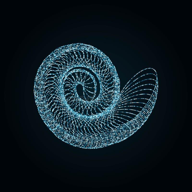 nautilus illustration de vecteur