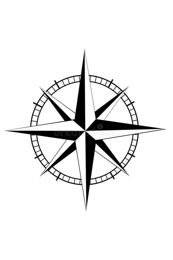 nautyczna gwiazda ilustracja wektor