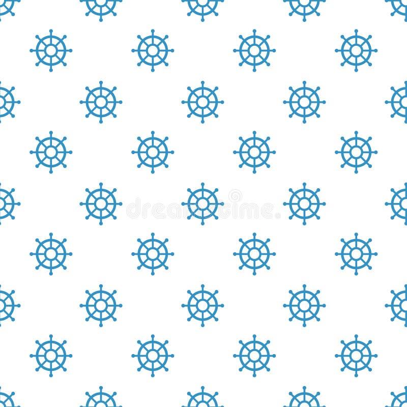 Nautyczny elementu patchworku wzór royalty ilustracja